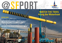 @SFPort, Issue 9, Spring 2018 Cover