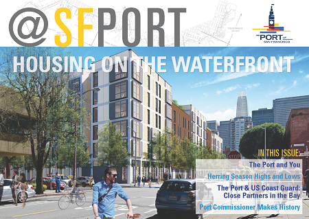 Cover @SFPort Winter 2019 Issue 12