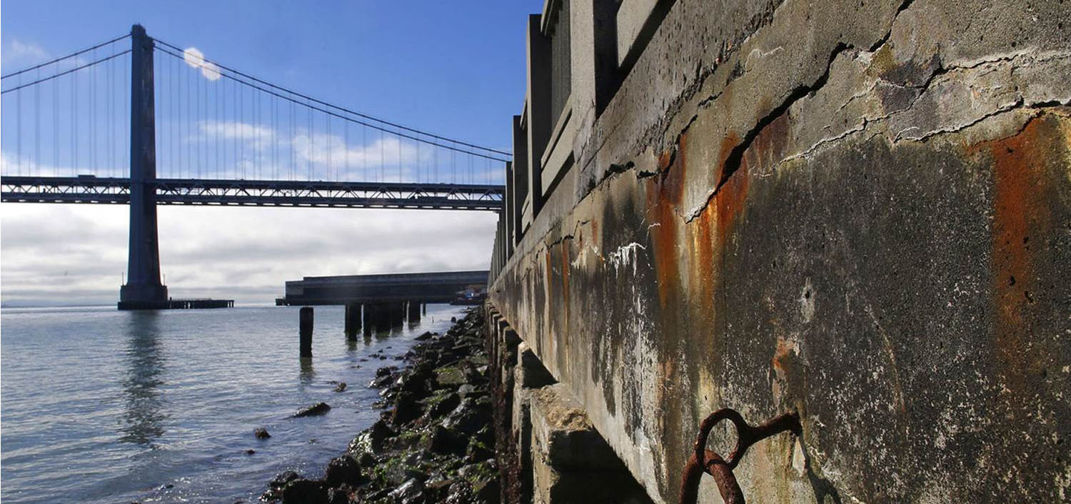 San Francisco's seawall is prone to collapse in an earthquake. Though the Port is working to engineer a solution, a fix is likely still years away.