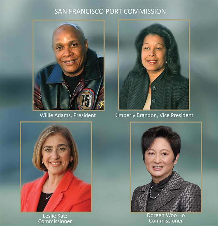 Port Commissioners' Photos, effective July 2017