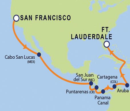 Coral Princess Cruise Ship Port Of San Francisco