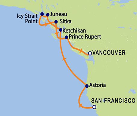 Oceania Regatta Cruise Ship Port Of San Francisco - Oceania regatta cruise ship