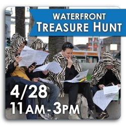 Participate in the Treasure Hunt