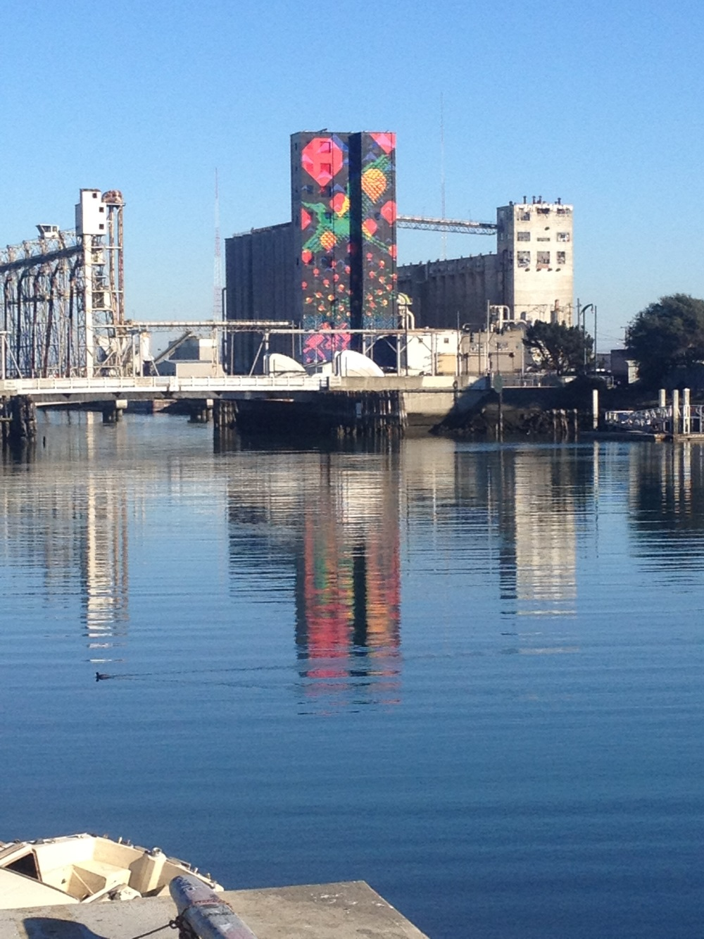 Water side Art Silos Pier 90 92