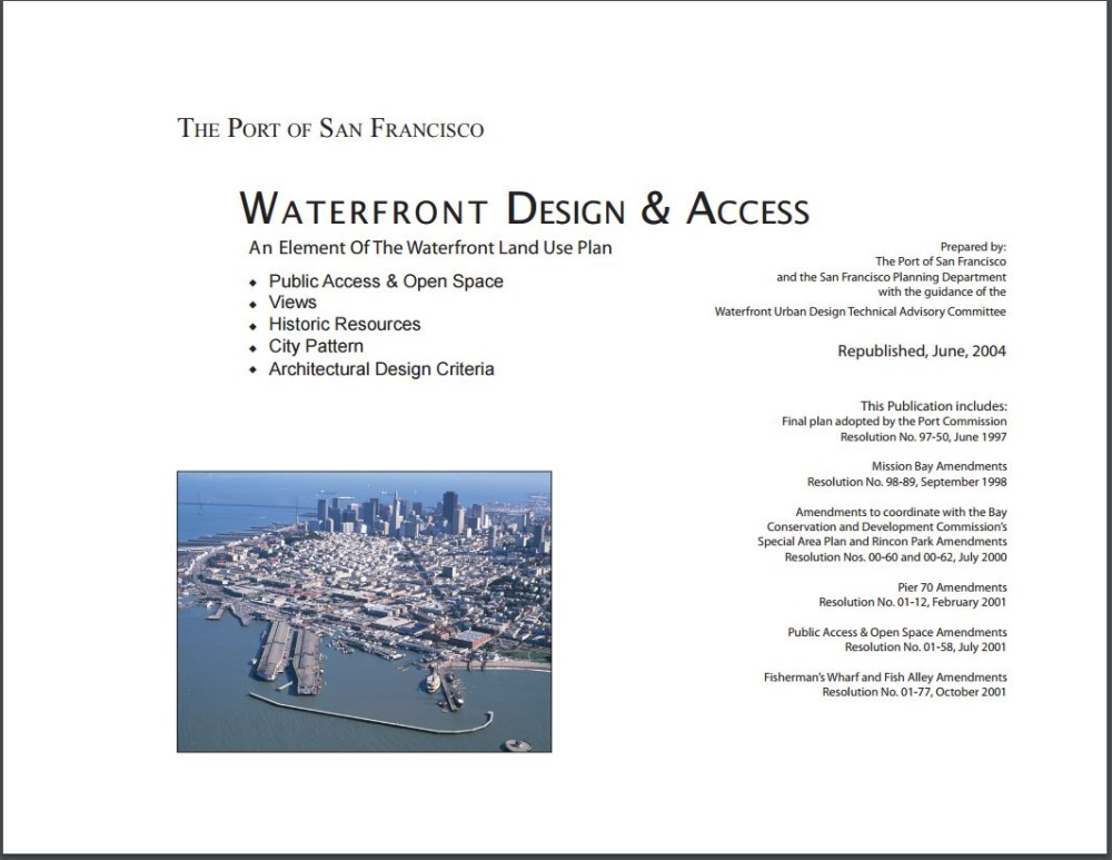 Cover for Design and Access Element