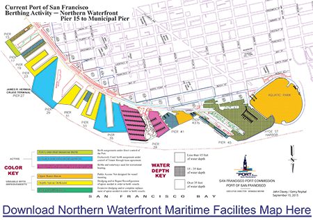 Northern Waterfront Maritime Facilities Map