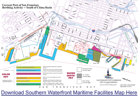 Southern Waterfront Maritime Facilities Map
