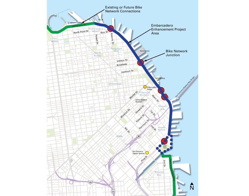 Embarcadero Enhancement Project  Port of San Francisco