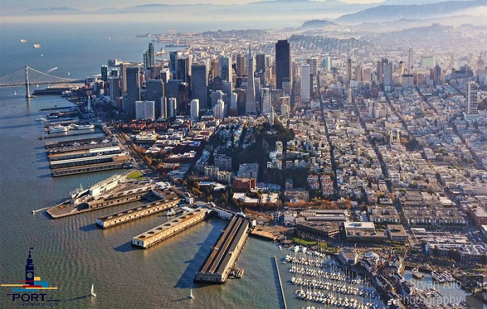 Aerial Photo of San Francisco Waterfront